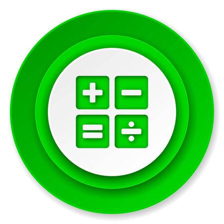 calc: calculator icon, calc sign