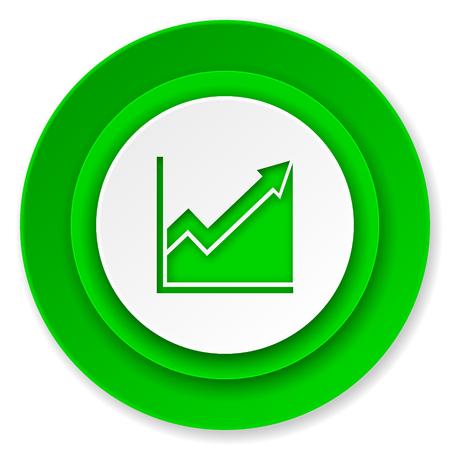 histogram: histogram icon, stock sign