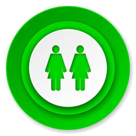 couple icon, people sign, team symbol photo