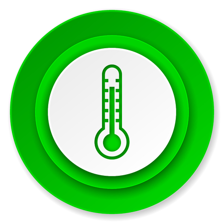 thermometer icon, temperature sign photo