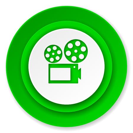 movie icon, cinema sign photo
