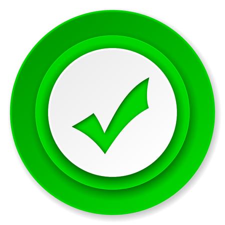 accept icon, check sign photo