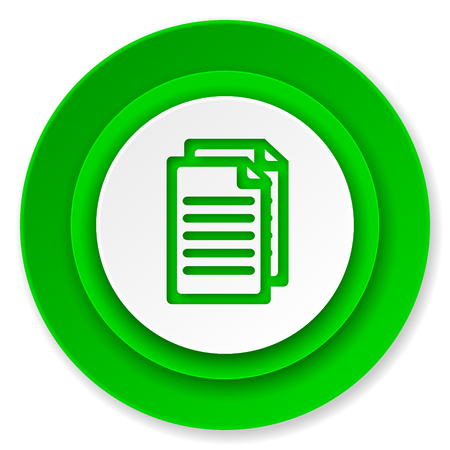 document icon, pages sign photo