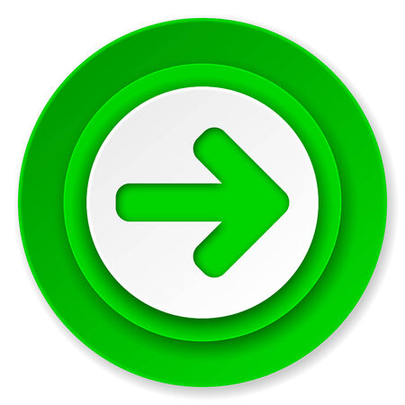 arrow right icon: derecho icono de la flecha, signo de la flecha