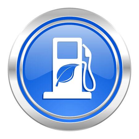 canola: biofuel icon, blue button, bio fuel sign