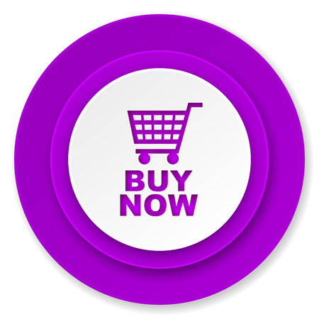 buy now: buy now icon, violet button