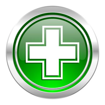 pharmacy icon: Apotheke Symbol, gr�ne Taste