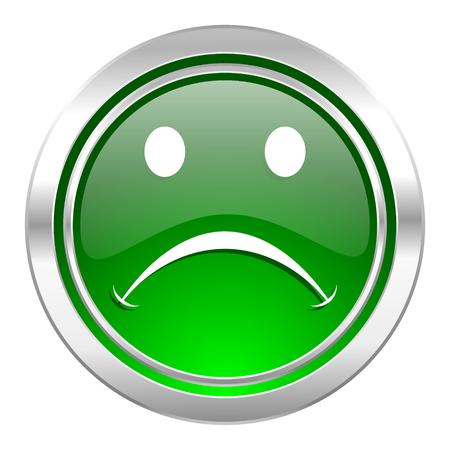 cry icon: cry icon, green button