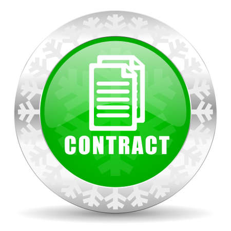 icom: contract green icon, christmas button