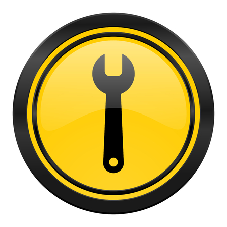 tools icon, service sign photo