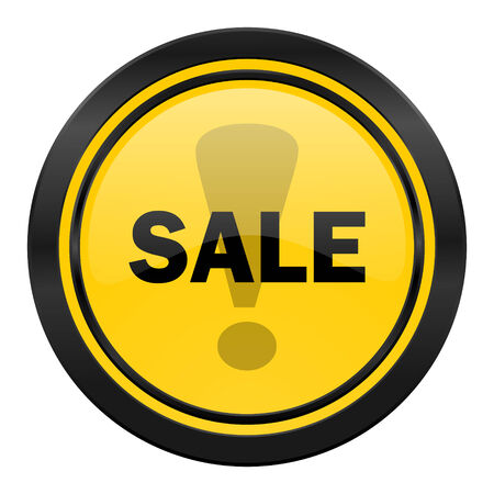 sale icon: sale icon Stock Photo