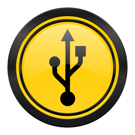 flash memory: usb icon, flash memory sign
