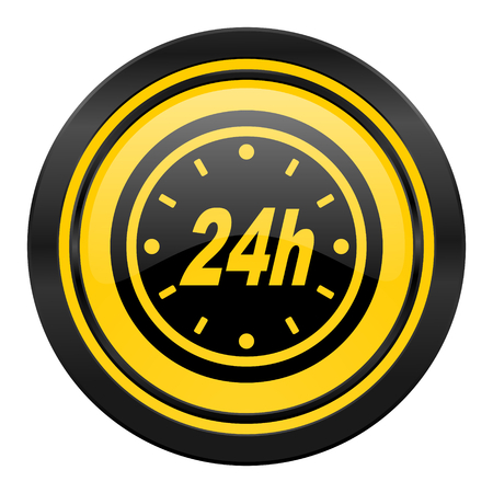 24 hour: 24 hour icon