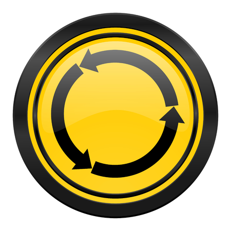 refresh icon: refresh icon Stock Photo