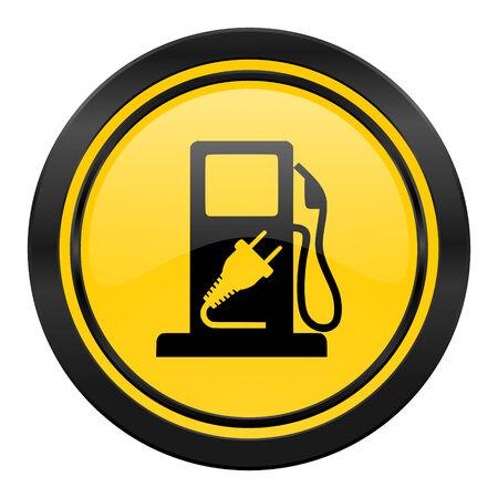 hybrid: fuel icon, hybrid fuel sign