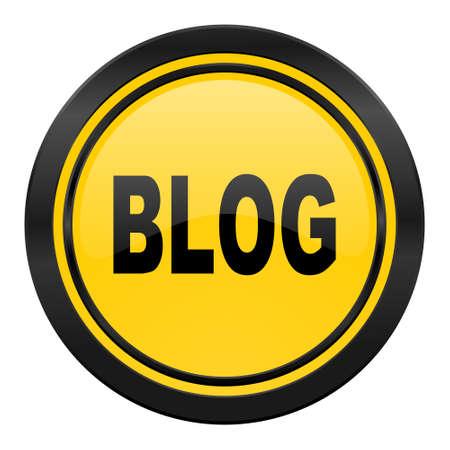 blog icon: blog icon, yellow