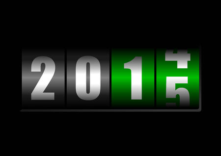 new year counter: 2014 2015 new year counter
