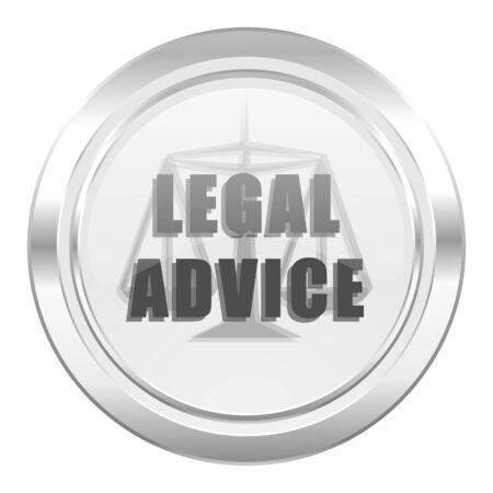 asesoria legal: asesoramiento jur�dico met�lico signo ic�nico leyes