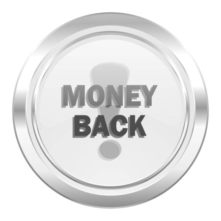 money back: money back metallic icon