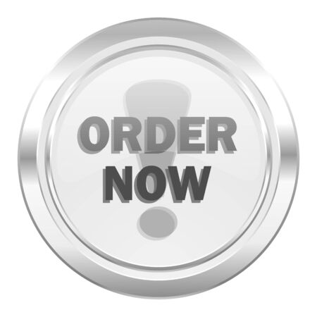 order now: order now metallic icon