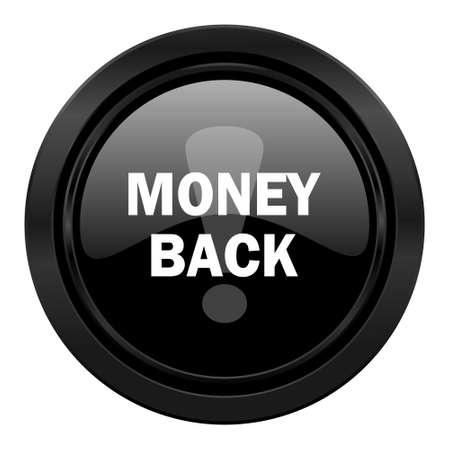 money back: money back black icon