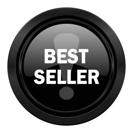 seller: best seller black icon