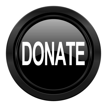 donate black icon