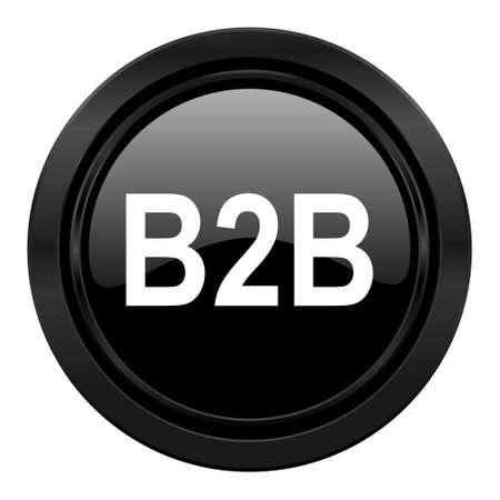 b2b: b2b icono negro