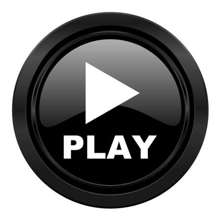 play black icon photo
