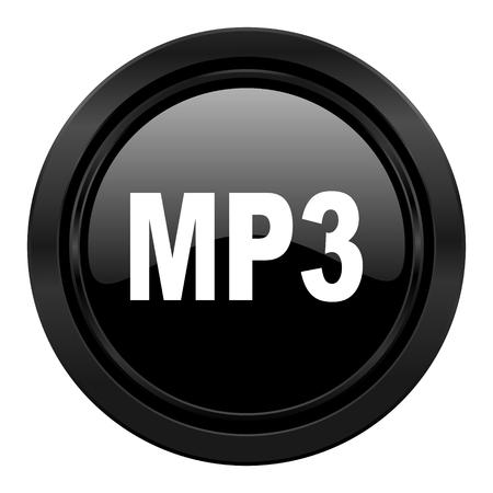 mp3: mp3 black icon