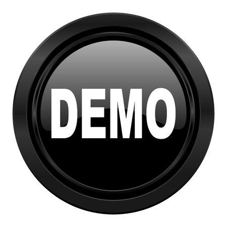 demo: demo black icon