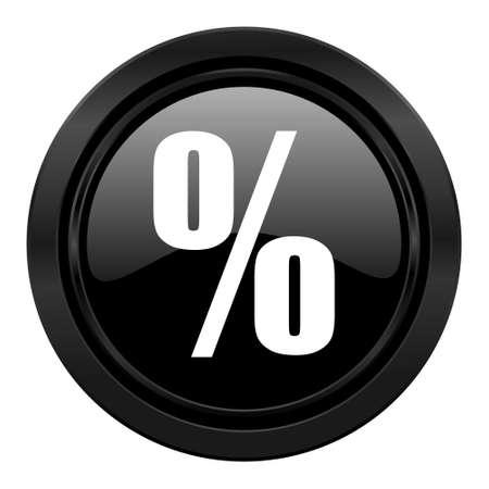 percent black icon photo