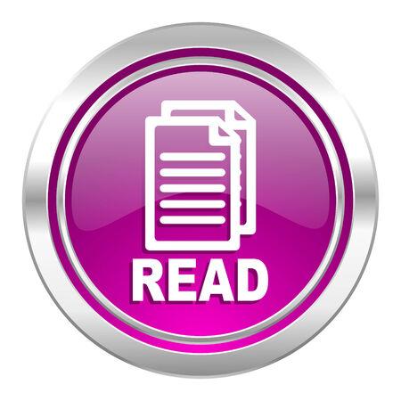 violet icon: read violet icon