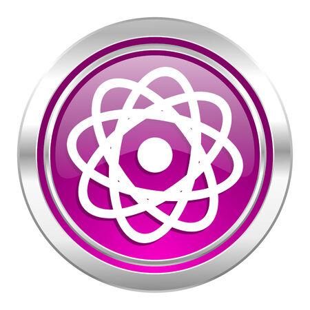 violet icon: atom violet icon