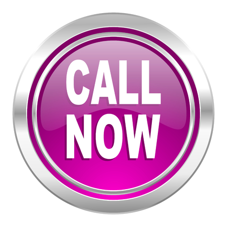 violet icon: call now violet icon