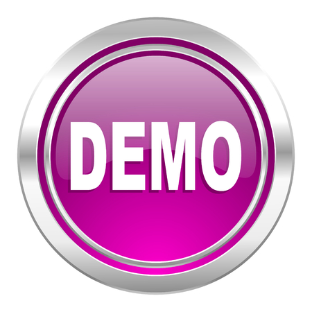 try: demo violet icon