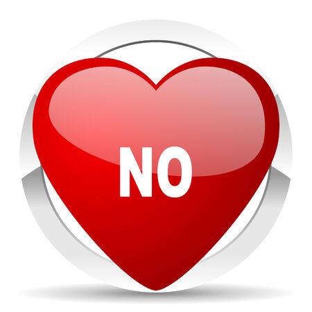 negate: no valentine icon