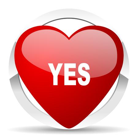 judgement day: yes valentine icon