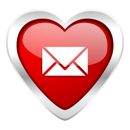 email valentine icon post sign photo