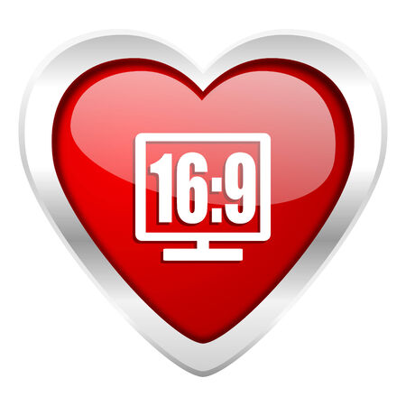 16 9 display valentine icon photo