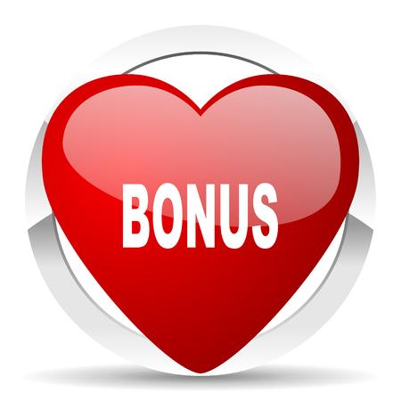 holiday profits: bonus valentine icon