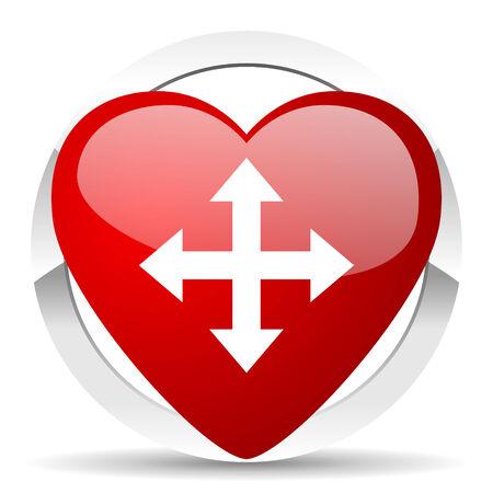 sterring: arrow valentine icon