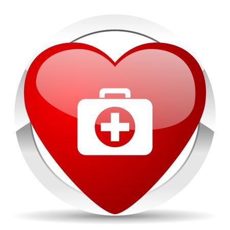 first aid valentine icon hospital valentine icon photo