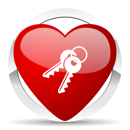 keys valentine icon photo