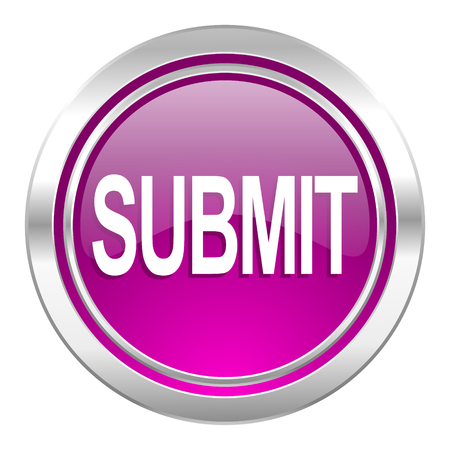 submit: submit violet icon