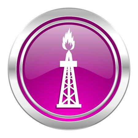 gas violet icon oil sign photo