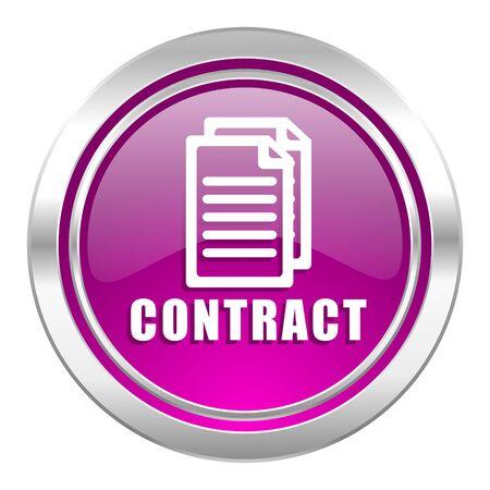 violet icon: contract violet icon