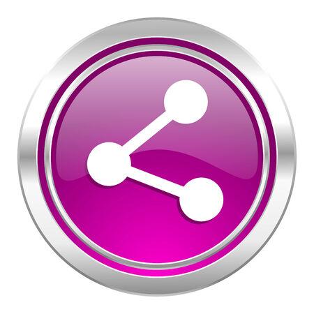 violet icon: share violet icon