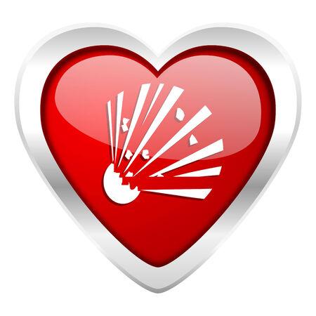 love dynamite: bomb valentine icon