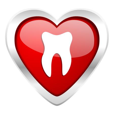tooth valentine icon photo